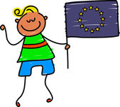 European kid cartoon