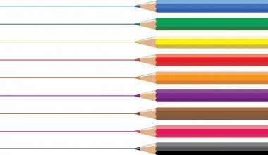 Artists Coloured Drawing Pencils