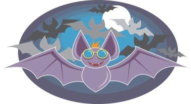 Cartoon Wild Bats
