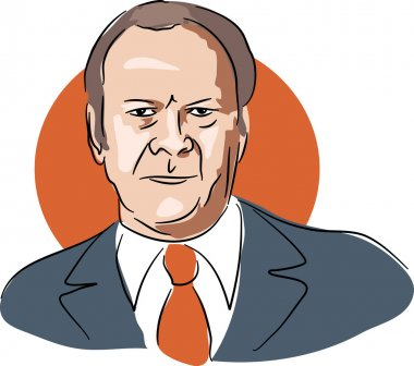 American president Gerald Ford