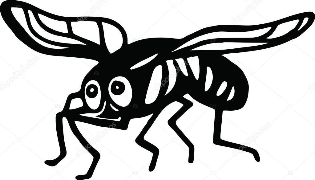 Mouche domestique dessin - Dessin de mouche ...