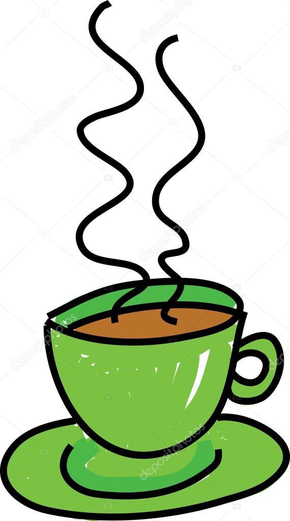 Disegno Di Una Tazza Di Caffè O Tè Vettoriali Stock Prawny 64293727