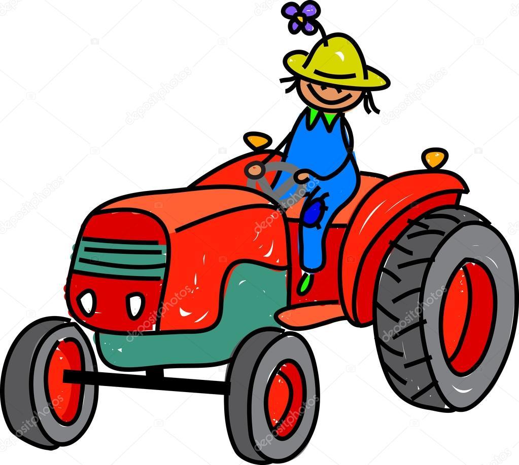 Kresleny Obrazek Chlapce Zemedelec Stock Vektor C Prawny 64296077
