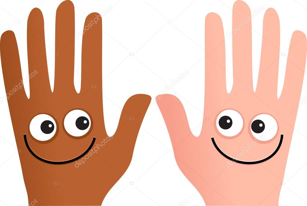 cartoon hands with a happy smiling face stock vector 64296261 helping hands clip art images helping hands clip art images