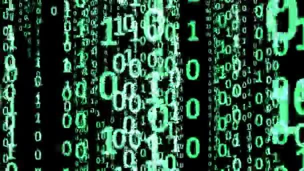binární kód abstraktní pozadí