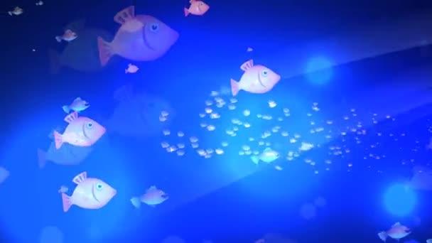 Pesci del fumetto subacquea
