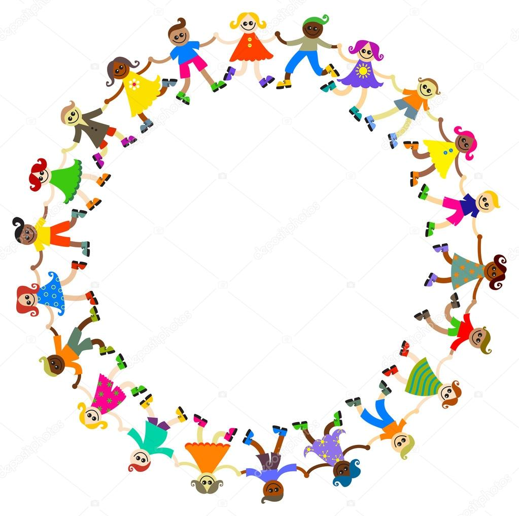 Children Holding Hands Stock Vector 169 Prawny 81778524