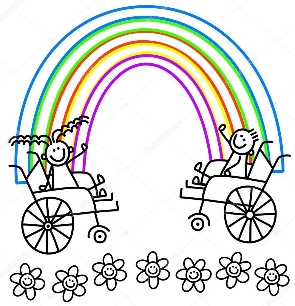Imágenes Logotipos De Niños Con Discapacidad Niños