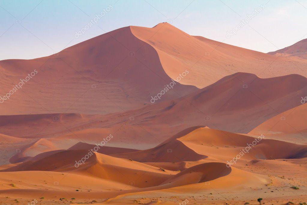Vast dunes of Sossusvlei