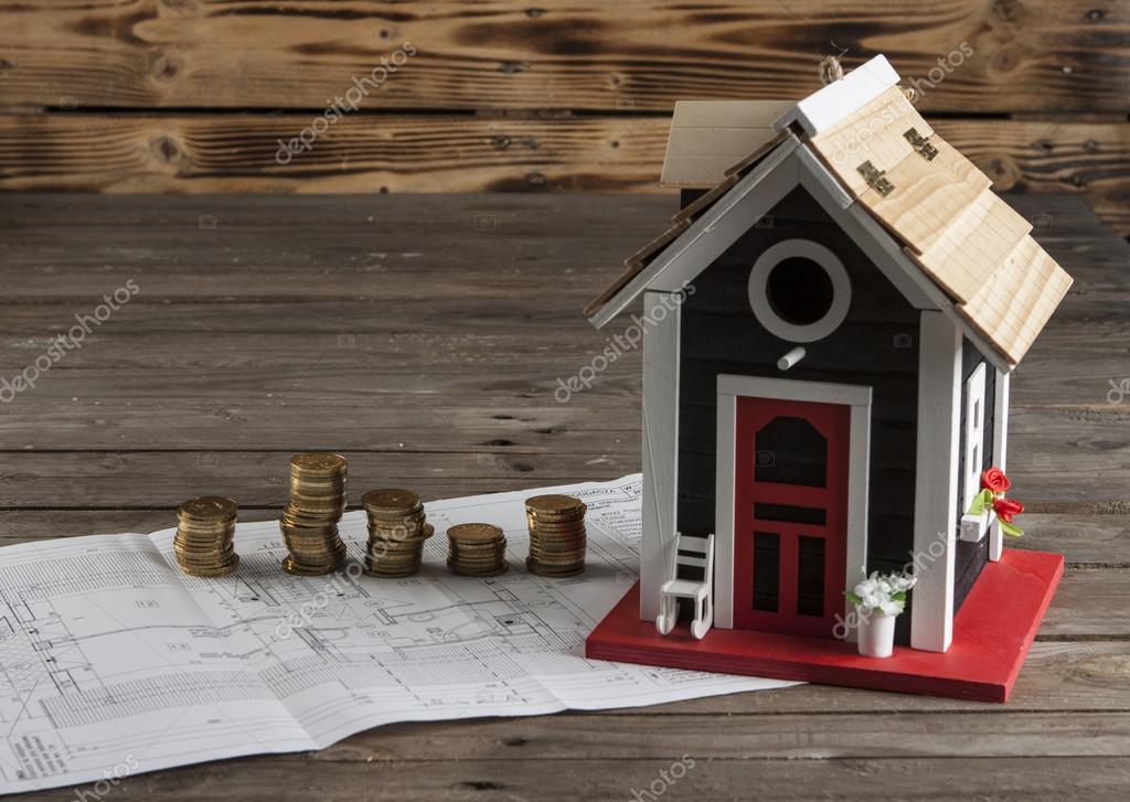 Dessins Pour La Construction Et La Petite Maison En Bois