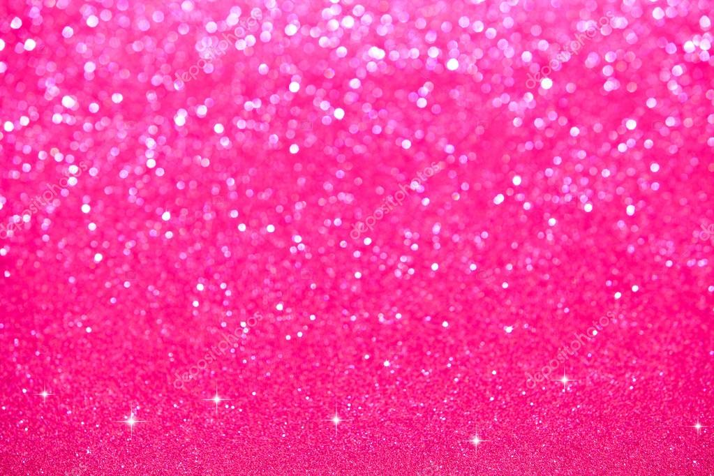 Pink Sparkles Background
