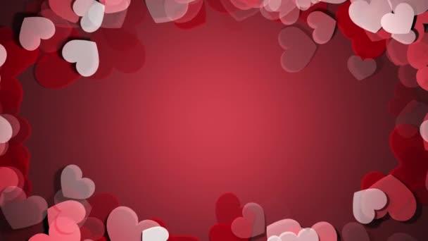Valentýnské přání a svatební iniciační šablona