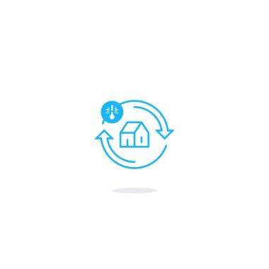 house improvement icon symbol