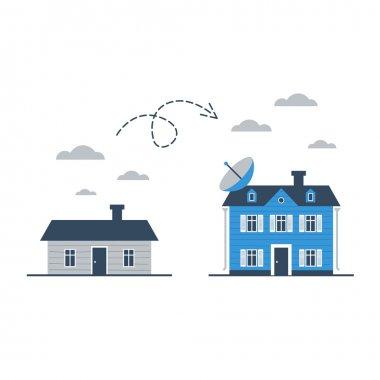 Upgrade or change illustration