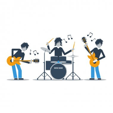 Rock music band
