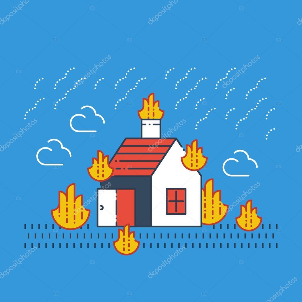 Fire coverage, arson insurance.