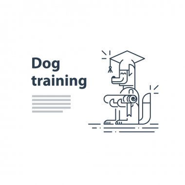 literally for dog training service