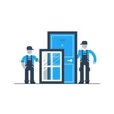 Window and door installment services