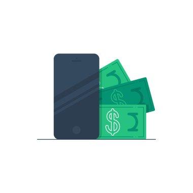 Bonus money on a phone