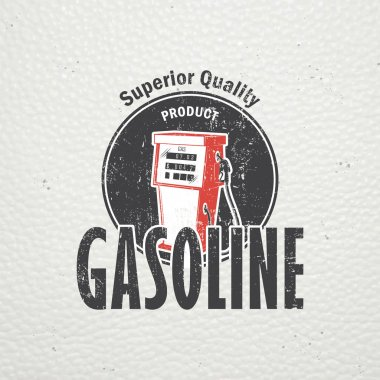 Auto service set. Rent a Car. Garage auto. Detailed elements. Old retro vintage grunge. Scratched, damaged, dirty effect. Typographic labels, stickers, logos and badges.