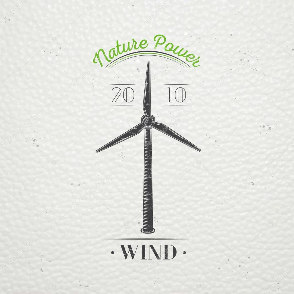 Windmills for energy. Sustainable ecological electrical power ...