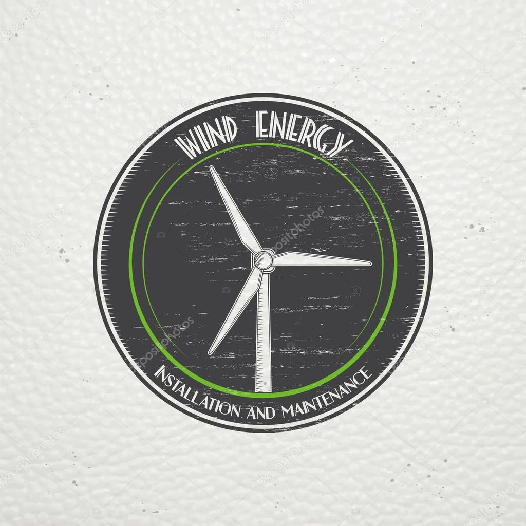 Windmills for energy  Sustainable ecological electrical power