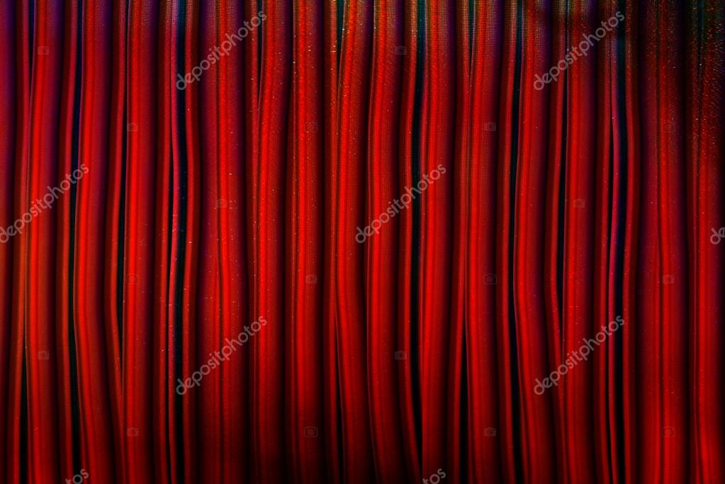 bg rode gordijnen stockfoto