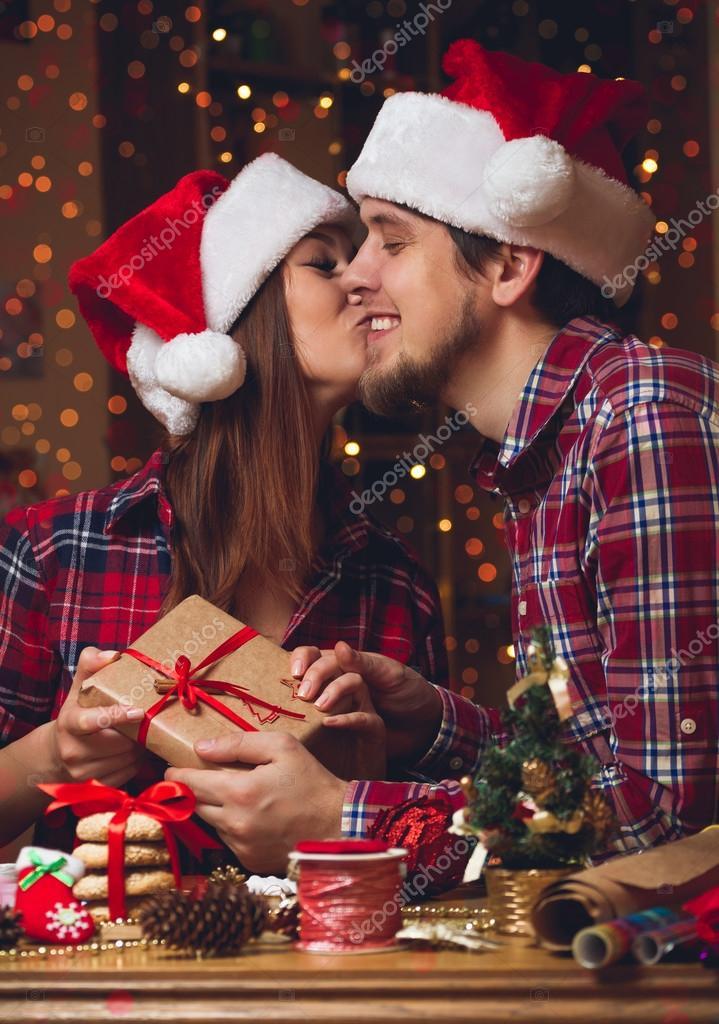 Regali Di Natale Per Coppia.Regali Di Natale Di Scambio Di Coppia Foto Stock C Perfectlab