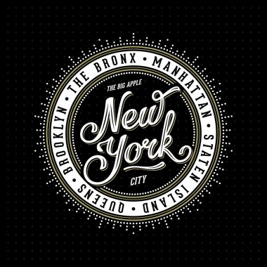 New York Lettering Stamp