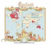 Fényképek Vektoros Térkép-Brit Birodalom