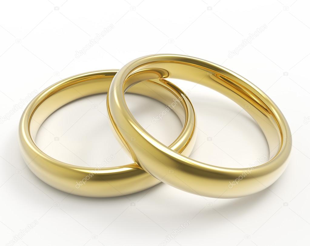 Goldene Hochzeit Ringe Stockfoto C Whitebarbie 110477820