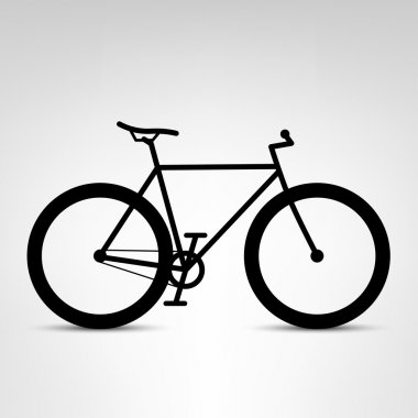 Fixed gear city bicycle
