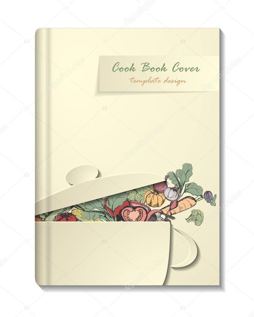 cookbook cover template