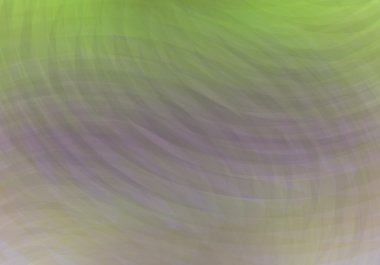 Green lilac yellow rose cloudy smoky waves, abstract background