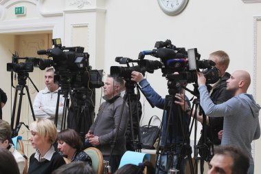 Video operators recorded on camera speech policy