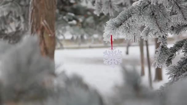 Winter Scene  - Christmas Season and decorations.