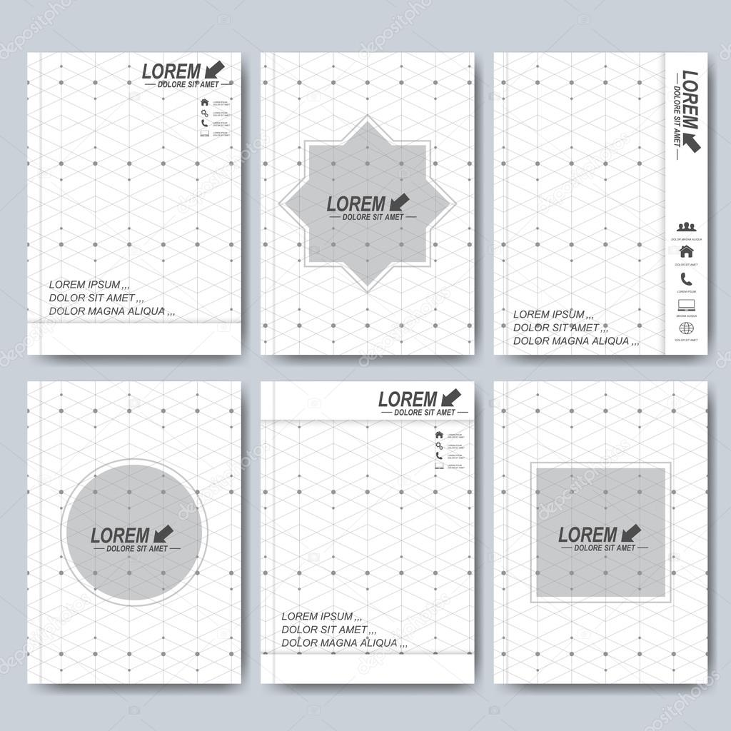 Modern Vector Templates For Brochure Flyer Cover Magazine Or