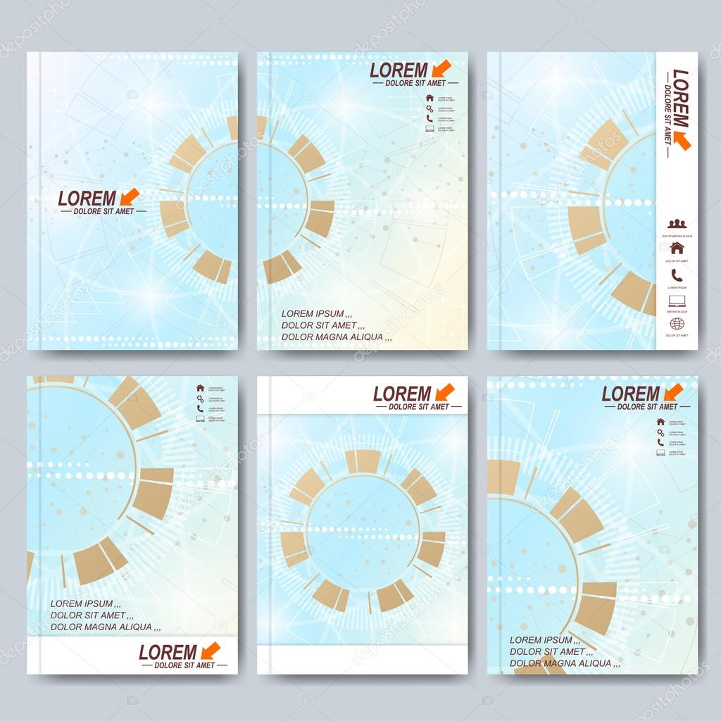 Moderne Vektor Vorlagen für Broschüre, Broschüre, Flyer, cover ...