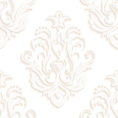 """Картина, постер, плакат, фотообои """"Бесшовные текстуры обоев в стиле барокко. На фоне серого и белого цвета. Может использоваться для стола и страницы заполнения веб-дизайн"""", артикул 70768151"""