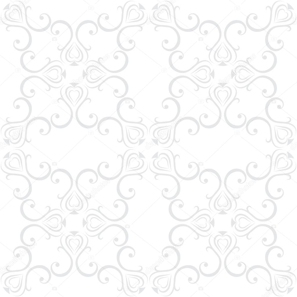 Seamless floral pattern wallpapers in the style of Baroque . Can be used for backgrounds and page fill web design