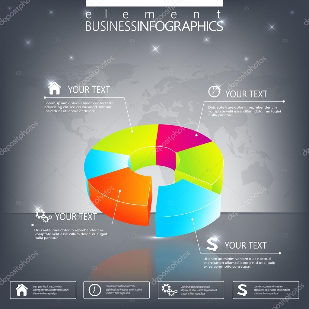 Modern 3d infographic template can be used for workflow layout modern 3d infographic template can be used for workflow layout diagram chart number options web design vector by berya113 maxwellsz