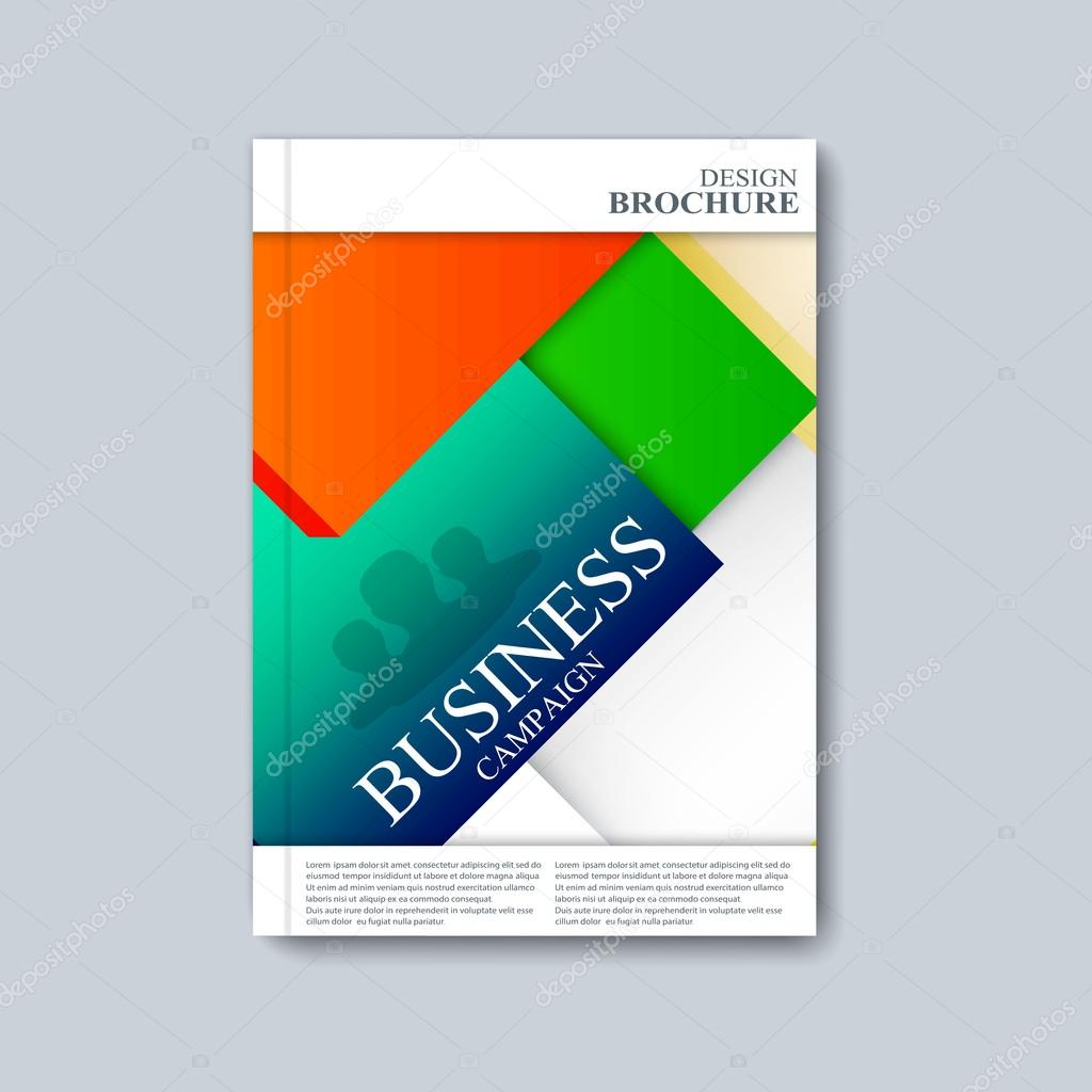 modernes Template Layout Broschüre, Magazin, Flyer, Broschüre ...