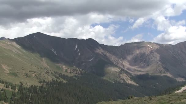 Colorado hory obloze mraky