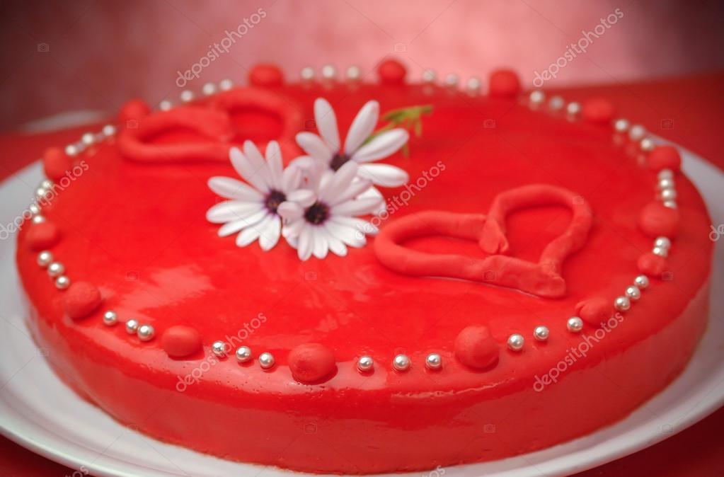 Valentinstag Kuchen Stockfoto C Aizram18 74328599