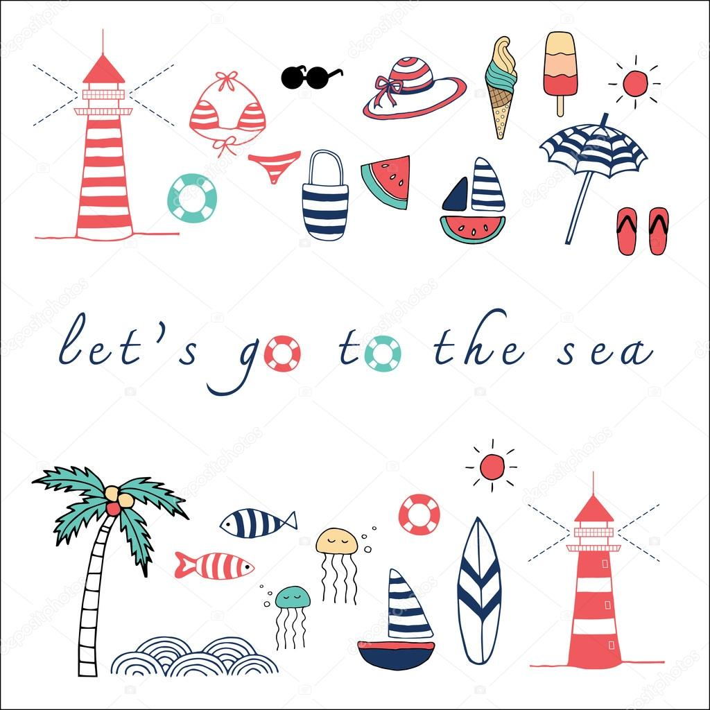 Let's go the the sea