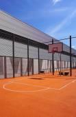 Basketbalové hřiště sportovní venkovní veřejné svislý