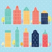 sladký domov sněhu pastelové barvy