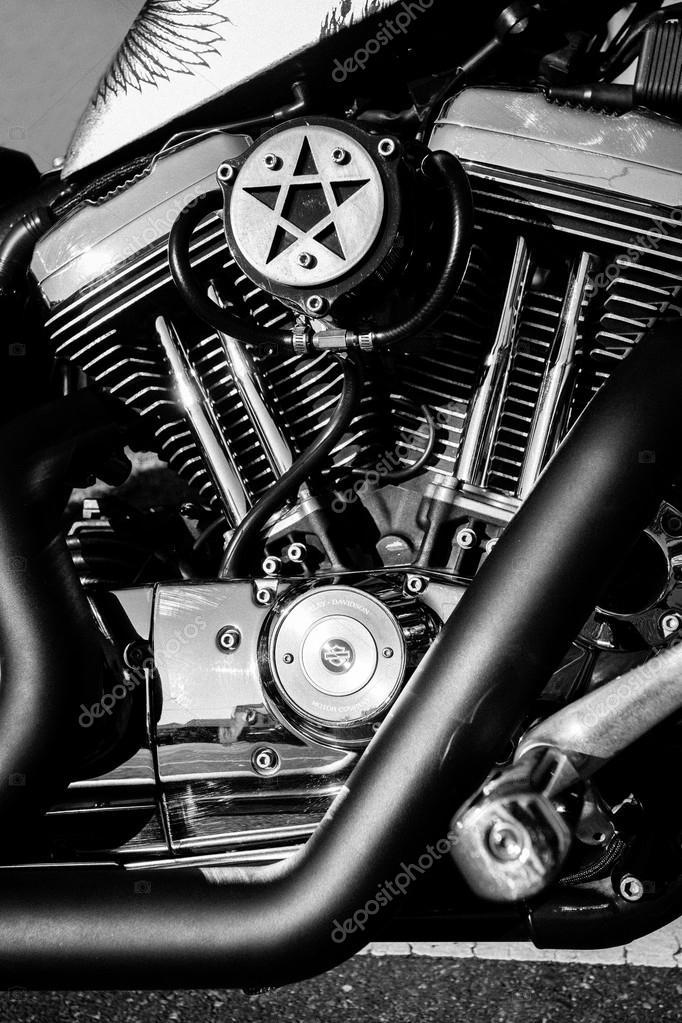 Harley Davidson — Foto editorial de stock © atakaa #64385463