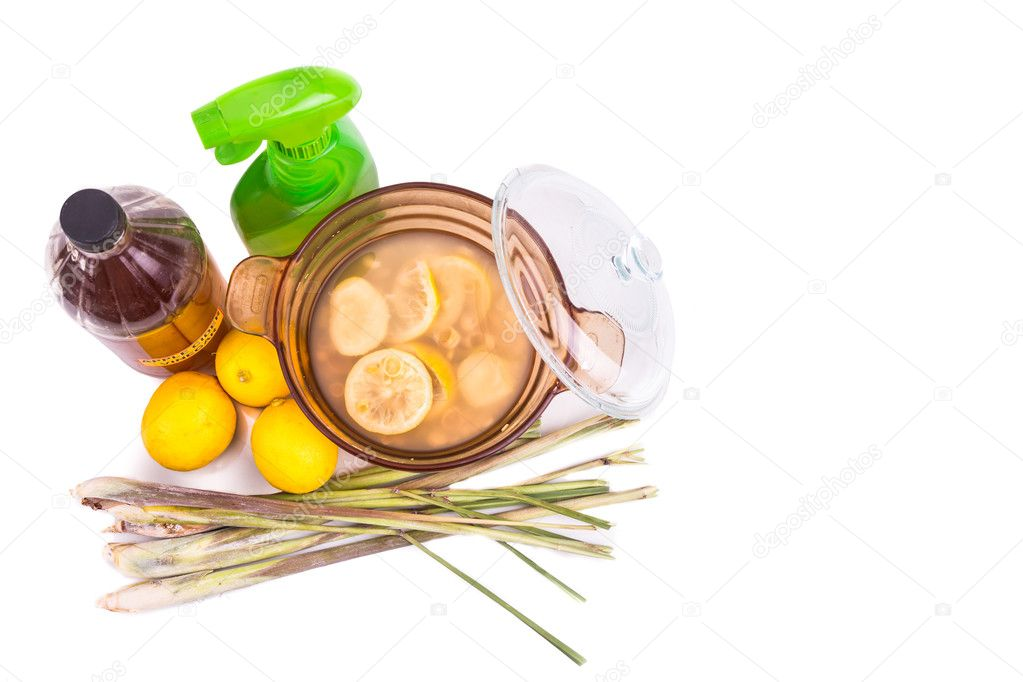 Apple cider vinegar, lemon, lemongrass effective insect
