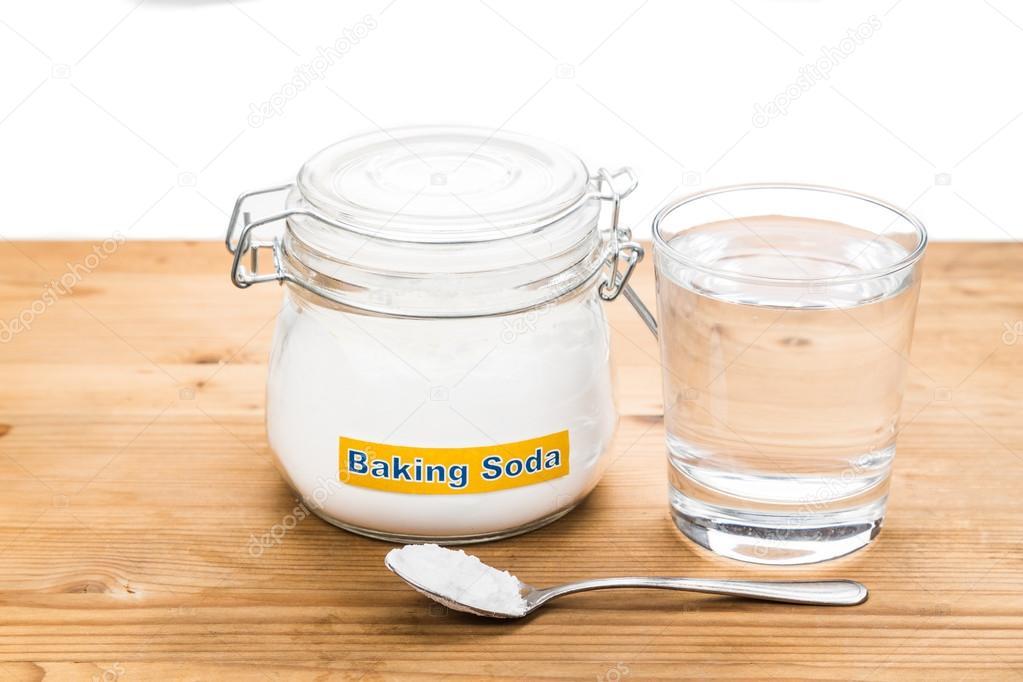 Αποτέλεσμα εικόνας για μαγειρική σόδα και νερό.